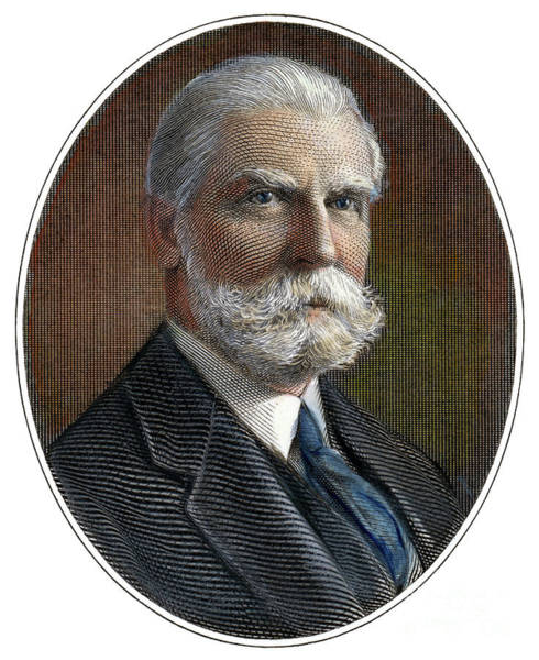 20th Century Man Drawing - Charles Evans Hughes by Granger