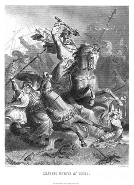 Wall Art - Photograph - Charles Martel (c688-741) by Granger