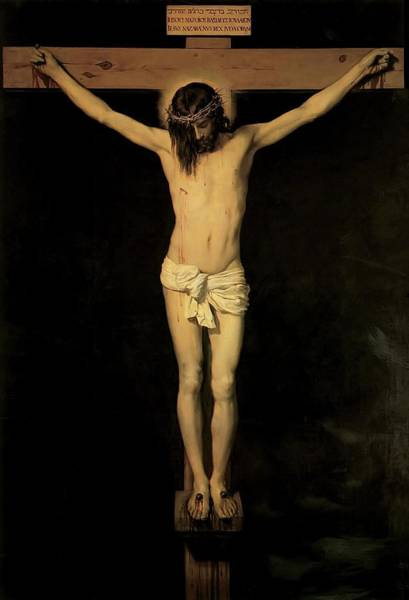 Painting - Christ On The Cross by Diego Velazquez
