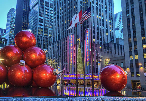 Wall Art - Photograph - Christmas In New York by June Marie Sobrito