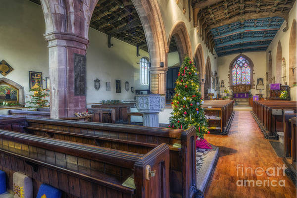 Photograph - Church At Christmas by Ian Mitchell
