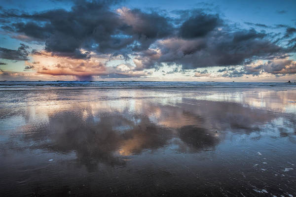 Coastal Reflections Art Print by Andrew Soundarajan