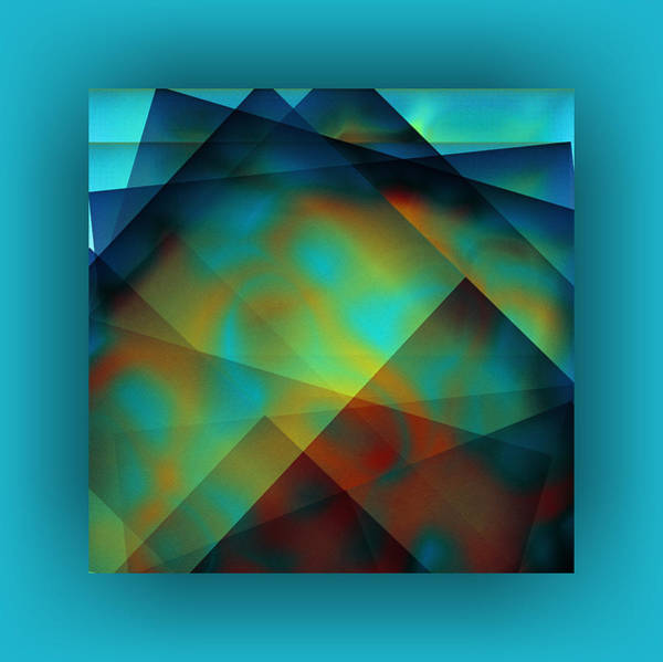 Wall Art - Digital Art - Color Patches by Mihaela Stancu