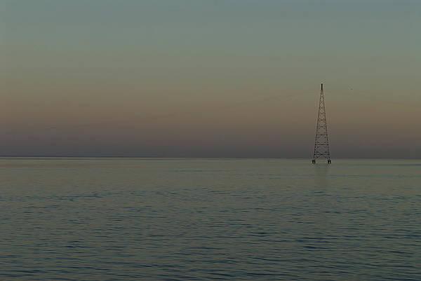 Tunisia Digital Art - Crossing Sunset From Mainland, El Djorf To Djerba.tunisia by Carlos Perez Muley