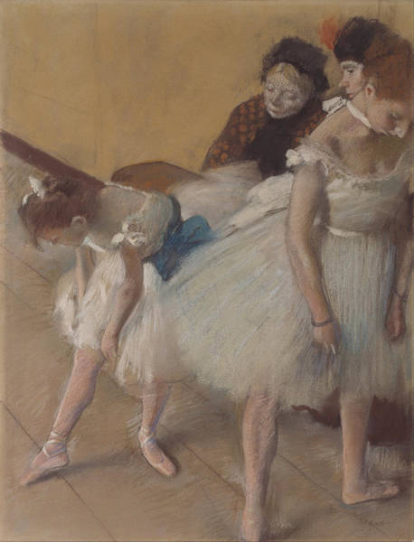 Painting - Dance Examination by Edgar Degas