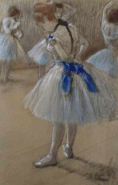 Drawing - Dancer by Edgar Degas