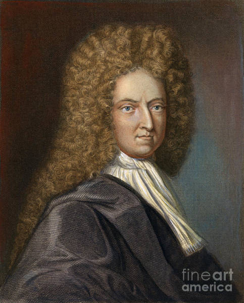 Drawing - Daniel Defoe, C1659-1731 by Granger