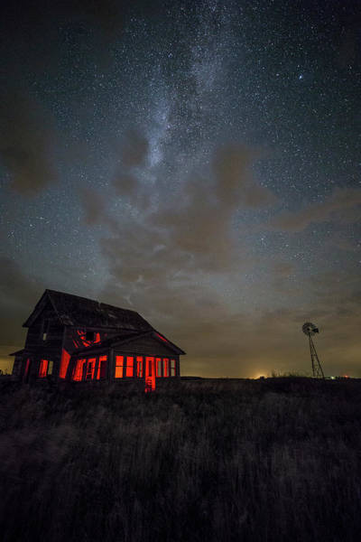 Middle Of Nowhere Photograph - Dark Place  by Aaron J Groen