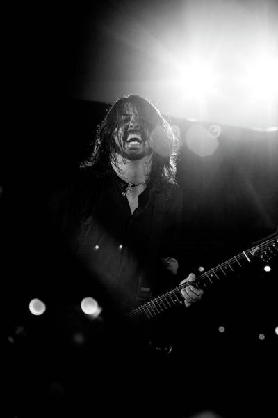 Foo Fighters Wall Art - Photograph - Dave Grohl by Ben James