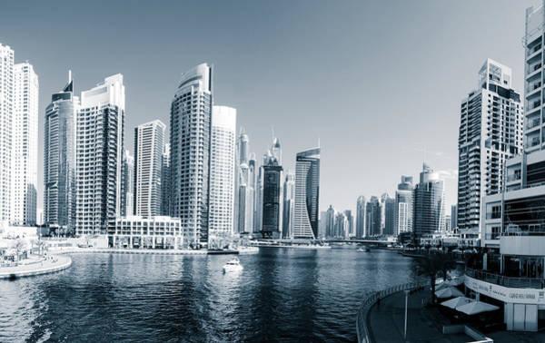 Wall Art - Photograph - Dubai Marina by Alexey Stiop