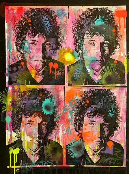 Wall Art - Painting - 4 Dylan by Dean Russo Art