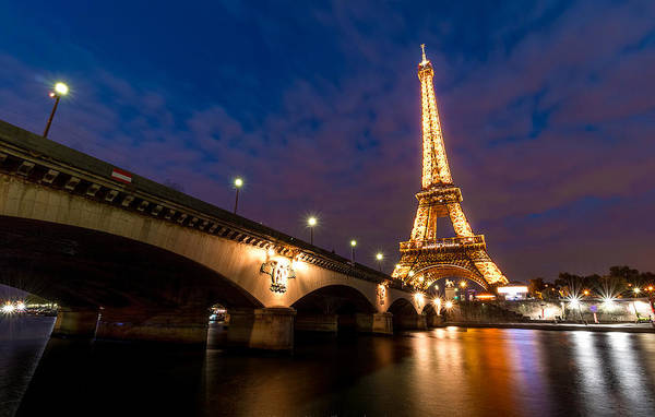 City Digital Art - Eiffel Tower by Super Lovely
