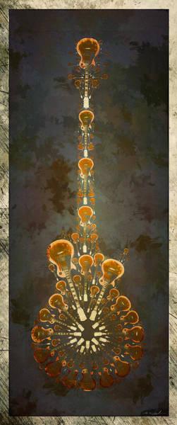 Joe Perry Digital Art - Electric Time Light by Michael Spatola