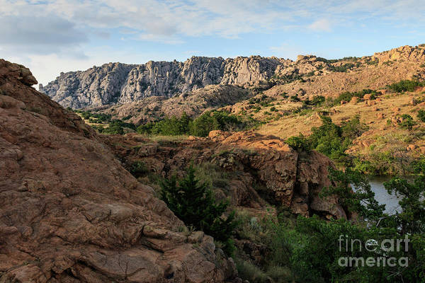 Photograph - Elk Mountain And Post Oak Creek by Richard Smith