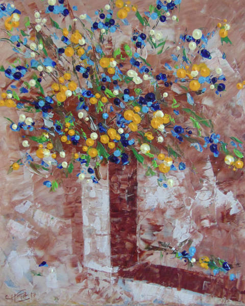 Painting - Floral by Frederic Payet