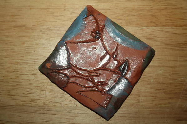 Ceramic Art - Friends - Tile by Gloria Ssali