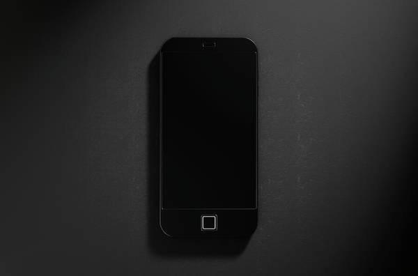 Cell Digital Art - Generic Modern Smart Phone by Allan Swart