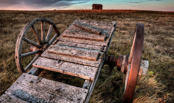 Wall Art - Photograph - Ghost Town Galilee Saskatchewan by Mark Duffy