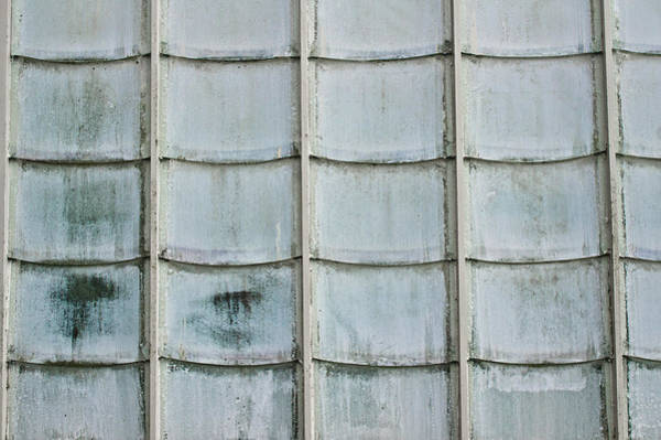 Frosted Glass Photograph - Glass Tiles by Tom Gowanlock