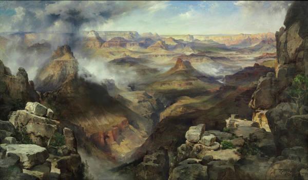 Wall Art - Painting - Grand Canyon Of The Colorado River by Thomas Moran