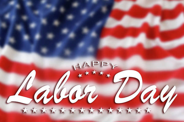 Wall Art - Photograph - Happy Labor Day by Les Cunliffe