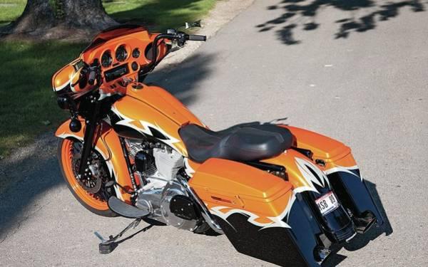 Transportation Digital Art - Harley-davidson by Super Lovely