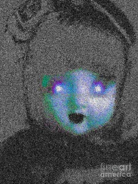 Possessed Digital Art - Haunted Toys Possessed Objects Psychic Art Storyboard Photo-essays Book By Humanitarian Artist Grace by Grace Divine