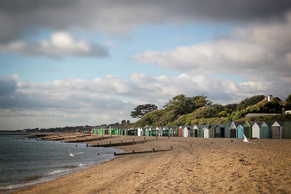 Photograph - Huts On The Shore by Raelene Goddard