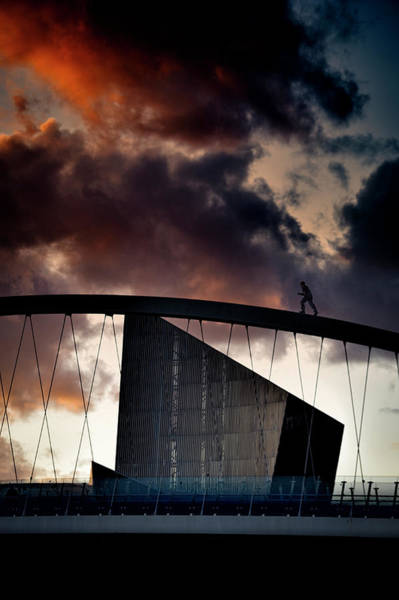 Greater Manchester Wall Art - Photograph - Imperial War Museum North by Neil Alexander
