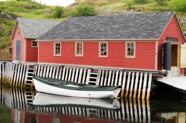 Wall Art - Photograph - Inner Harbour Trinity Bay Newfoundland by Bob Corson