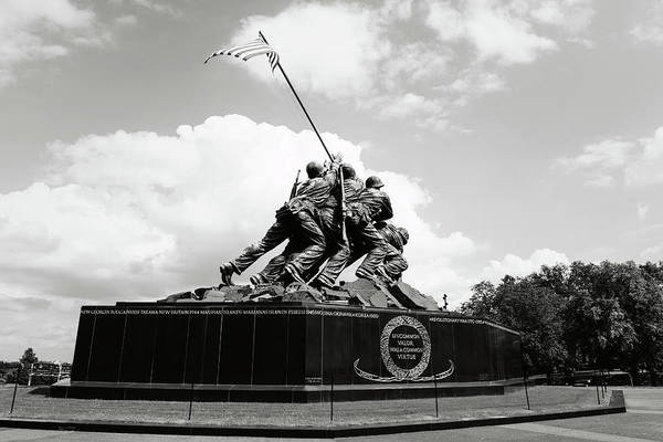 Photograph - Iwo Jima Washington Dc by Brandon Bourdages