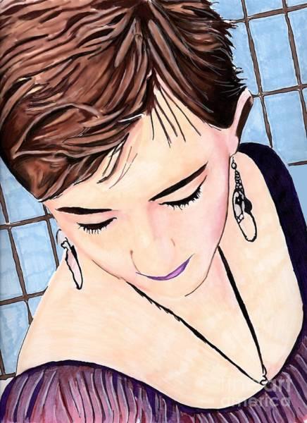 Drawing - Jade by Bill Richards