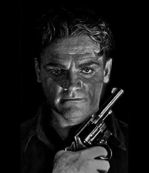 James Cagney - A Study Art Print