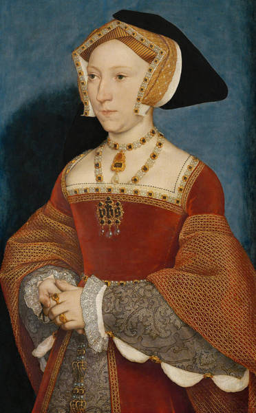 Painting - Jane Seymour Queen Of England by Hans Holbein the Younger