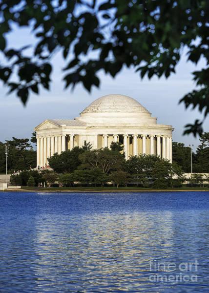 Wall Art - Photograph - Jefferson Memorial by John Greim