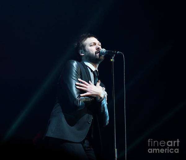 Photograph - Kasabian by Jenny Potter