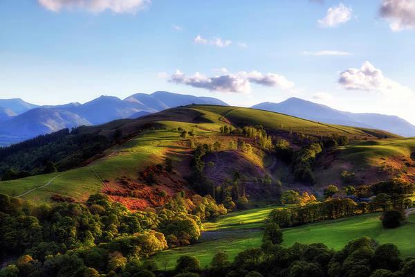 Berge Wall Art - Photograph - Keswick - Lake District by Joana Kruse