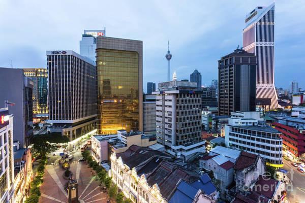 Photograph - Kuala Lumpur Skyline by Didier Marti