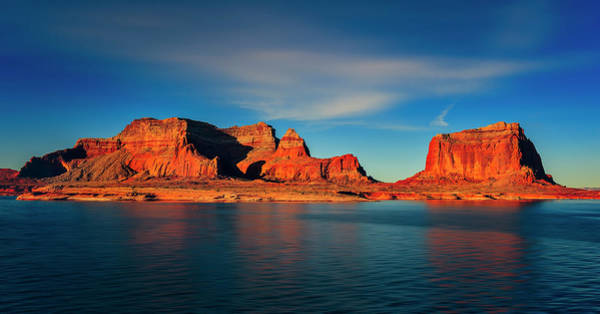 Photograph - Lake Powell by Peter Lakomy