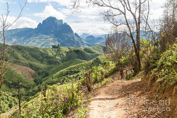 Photograph - Landscape Around Kasi In North Laos by Didier Marti
