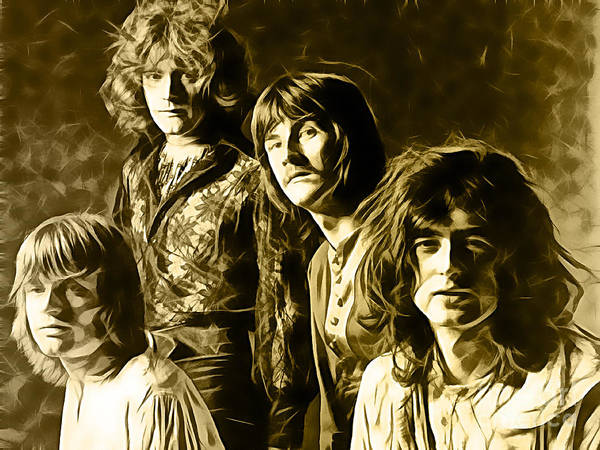 Wall Art - Photograph - Led Zeppelin Collection by Marvin Blaine