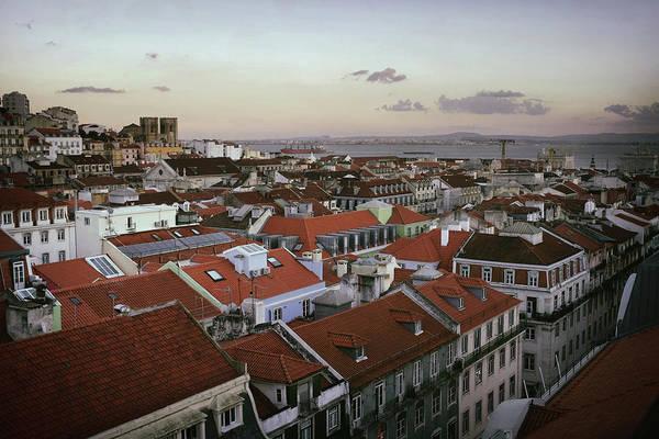 Iberian Peninsula Wall Art - Photograph - Lisbon Downtown by Carlos Caetano