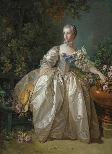 Boucher Wall Art - Painting - Madame Bergeret by Francois Boucher