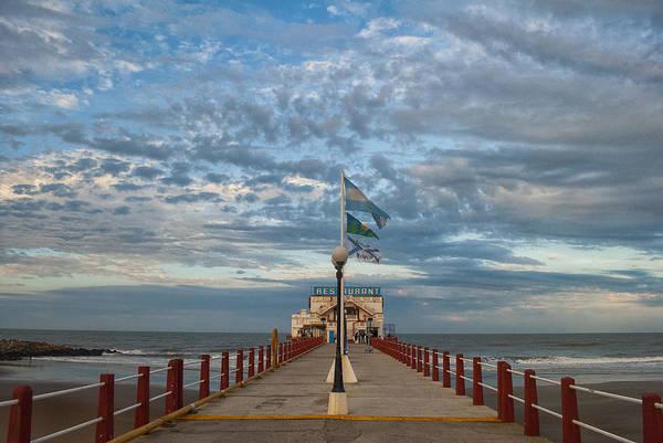 Cabildo Wall Art - Photograph - Mar Del Plata City by Hans Wolfgang Muller Leg