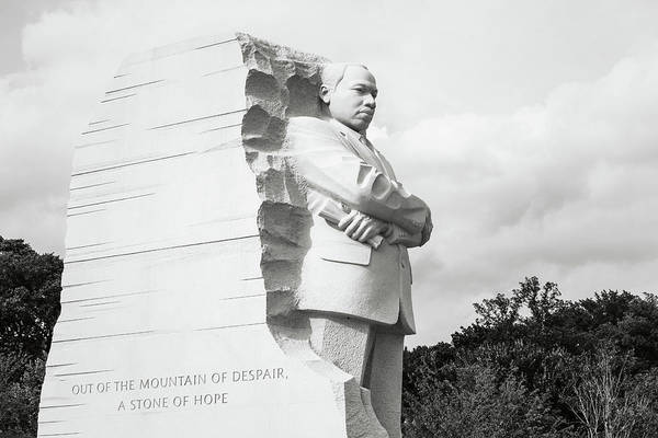 Photograph - Martin Luther King by Brandon Bourdages