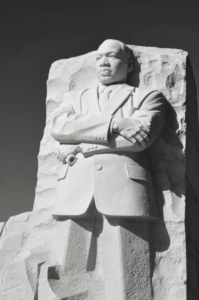 Photograph - Martin Luther King Memorial by Brandon Bourdages