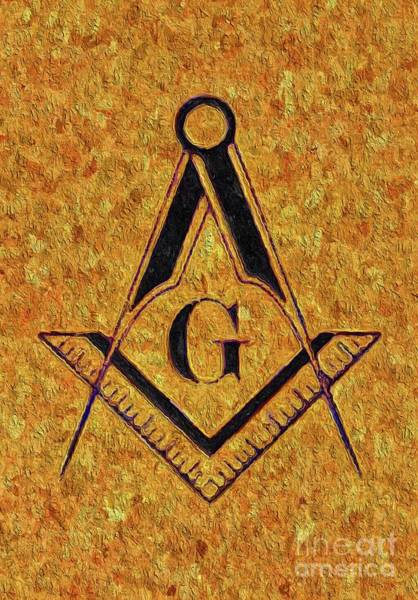 Serpent Painting - Masonic Symbolism by Esoterica Art Agency