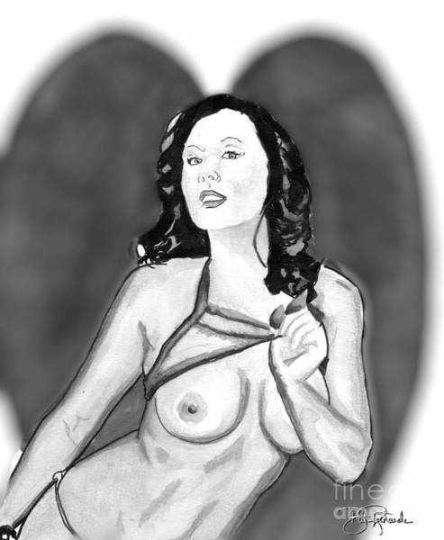 Drawing - Model by Bill Richards