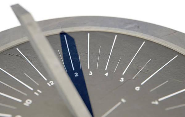Decoration Day Digital Art - Modern Sundial by Allan Swart