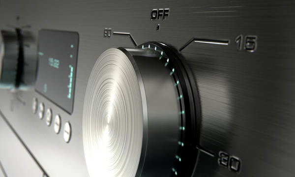 Domestic Digital Art - Modern Washing Machine Closeups by Allan Swart
